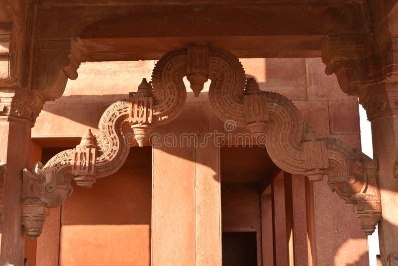 Казначейство Ankh Micholi, Fatehpur Sikri, Уттар-Прадеш стоковое фото