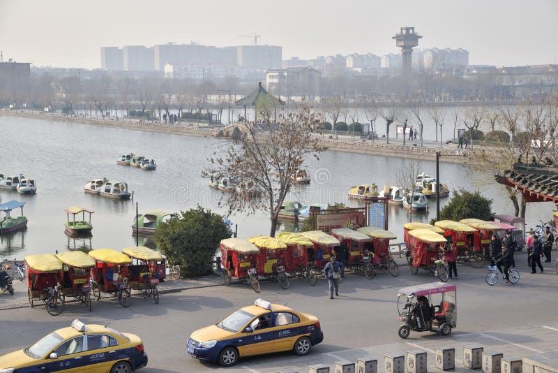 Кайфэн, Хэнань, фарфор стоковая фотография rf