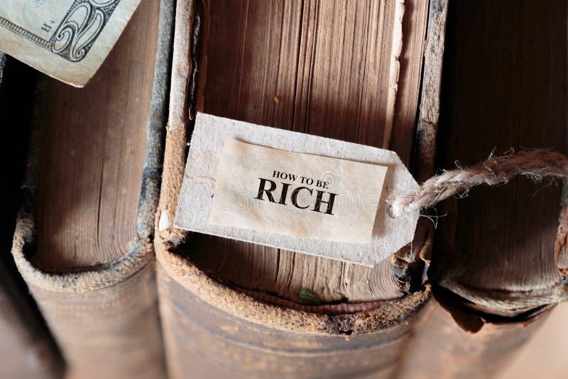 Как быть богатой концепцией стоковые изображения rf