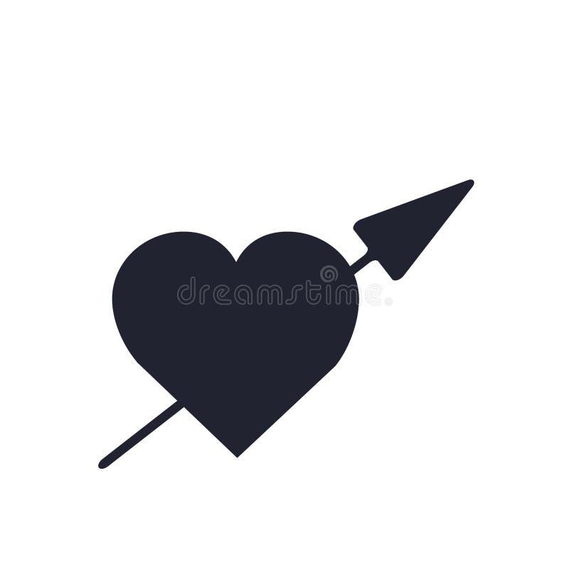 Как знак и символ вектора значка изолированные на белой предпосылке, как концепция логотипа иллюстрация штока