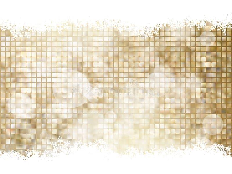 как иллюстрация золота рождества предпосылки 10 eps бесплатная иллюстрация