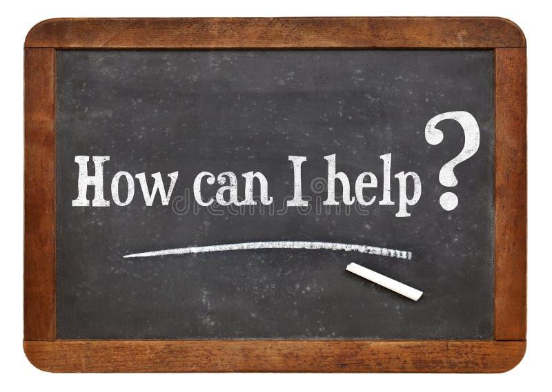 Ik kan je helpen