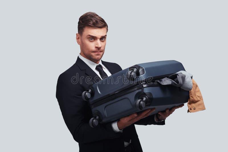 Как общаться с этим багажом? стоковое фото