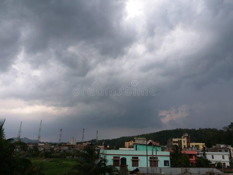 Как раз щелчок Guwahati Асом Индия стоковая фотография rf