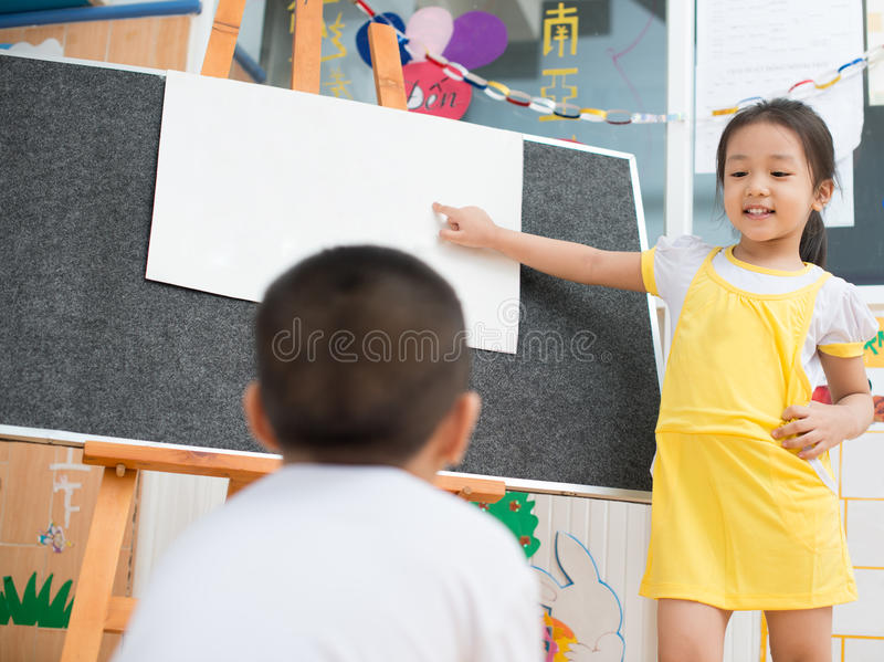 Как учитель стоковое изображение rf