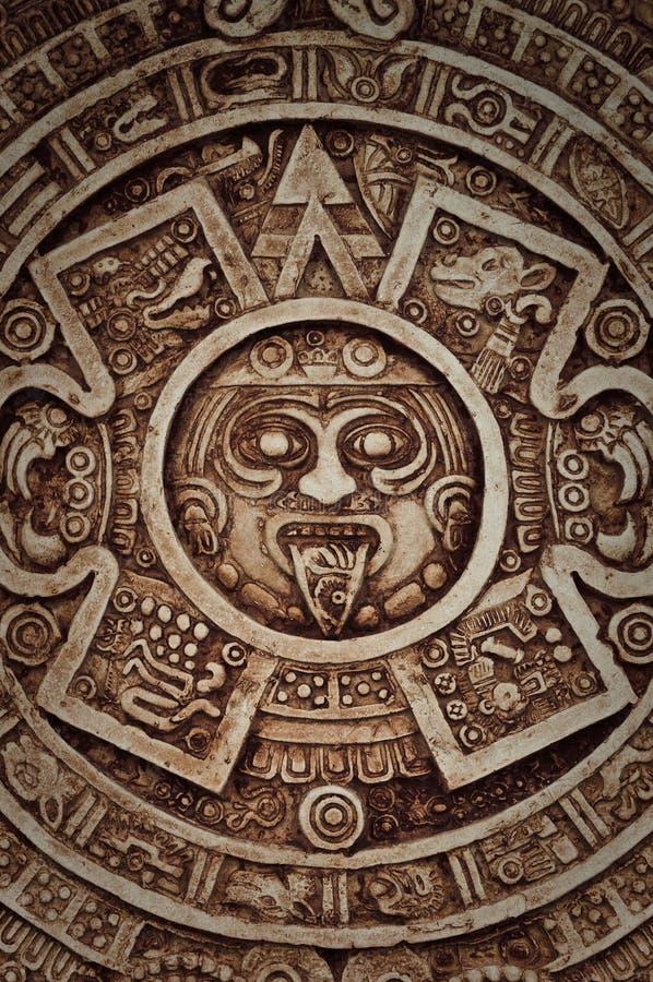 календар майяский стоковое фото