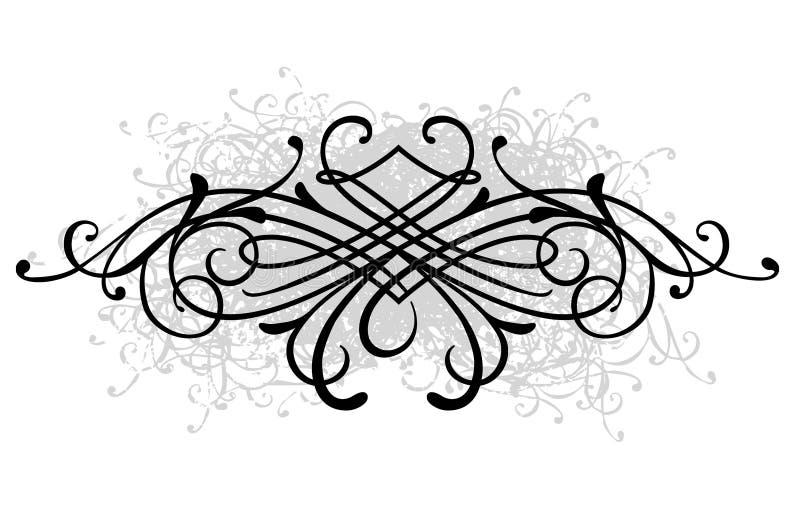 каллиграфическо иллюстрация штока