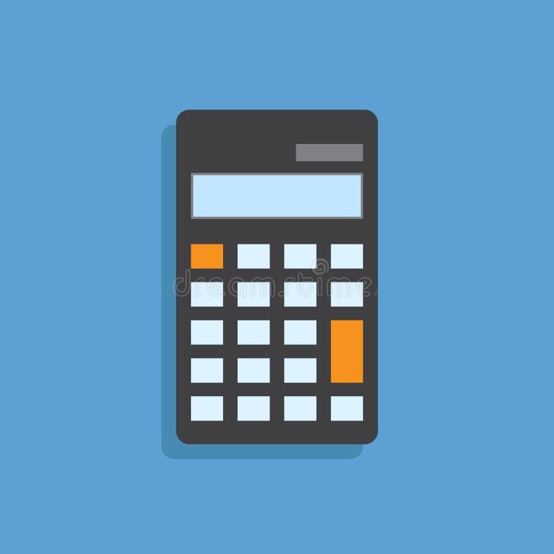 Калькулятор плоско deign вектор бесплатная иллюстрация
