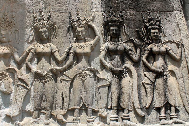 Камбоджа Siem Reap стоковые изображения rf