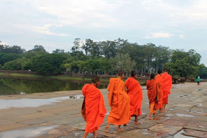 Камбоджа Siem Reap Angkor Wat стоковые фотографии rf
