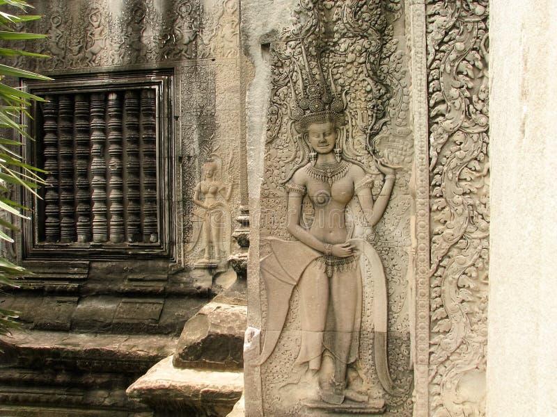 камбоджийский висок стоковое фото rf