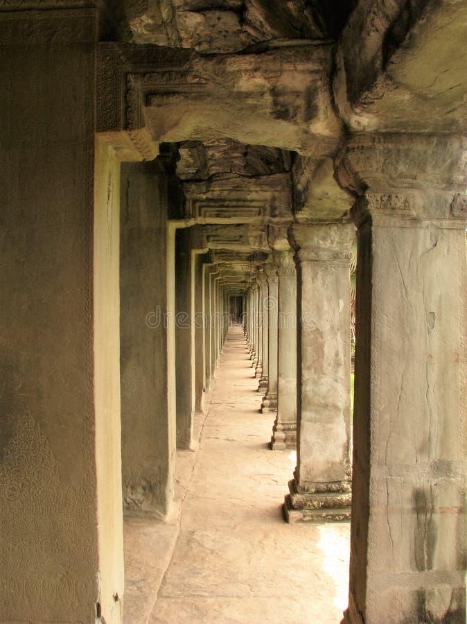 камбоджийский висок стоковая фотография rf