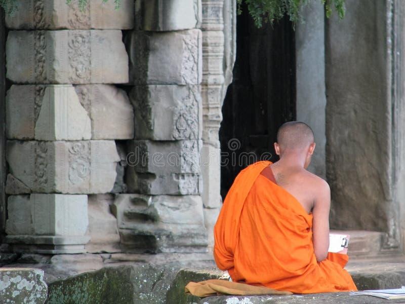 камбоджийский висок стоковые фото
