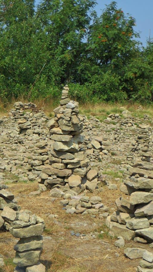 Каменная башенка стоковые изображения rf