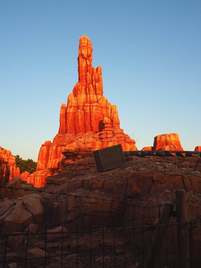 Каменная гора стоковое изображение