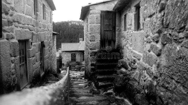 Каменная деревня стоковое фото rf