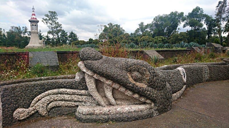 Каменная змейка стоковая фотография rf