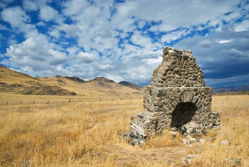 каменная печка стоковое фото
