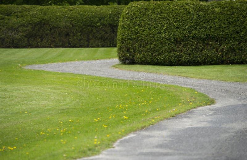 Каменная подъездная дорога стоковая фотография