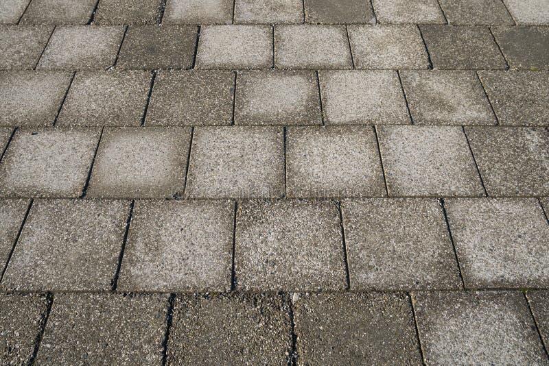 Каменная текстура мостоваой Абстрактная предпосылка старого булыжника p стоковая фотография