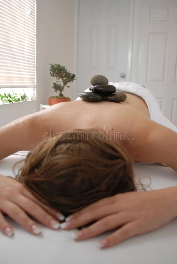 каменная терапия стоковое фото rf