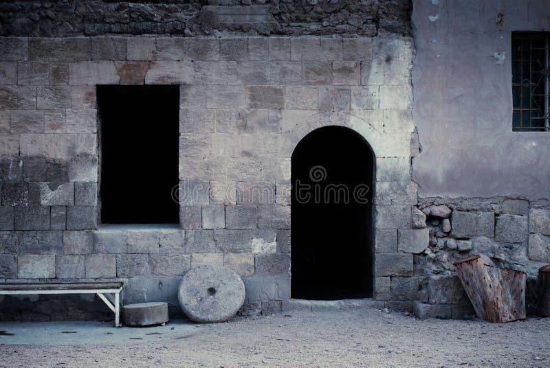 Каменная цитадель стоковая фотография