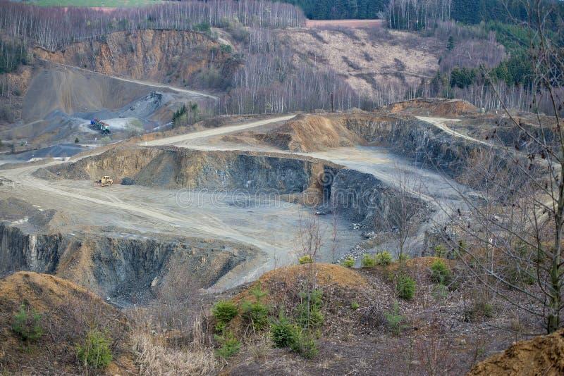 Каменная шахта стоковые фото