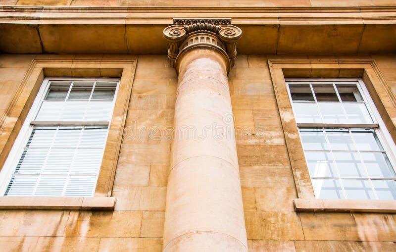 Каменное зодчество исторического cambridge Великобритании стоковая фотография