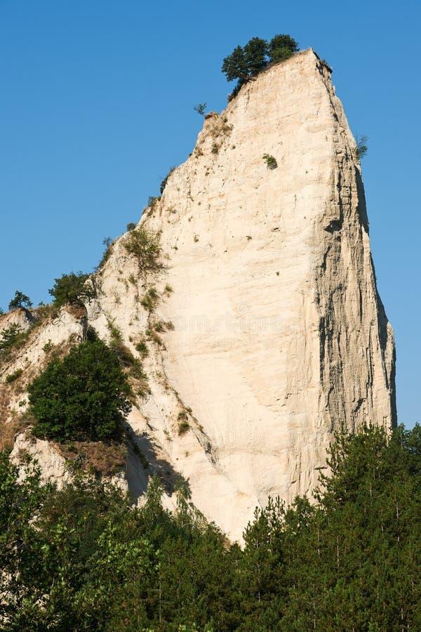 Каменное явление в Melnik, Болгарии стоковые изображения