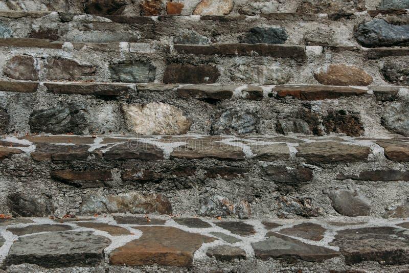 Каменные лестницы в парке стоковое фото