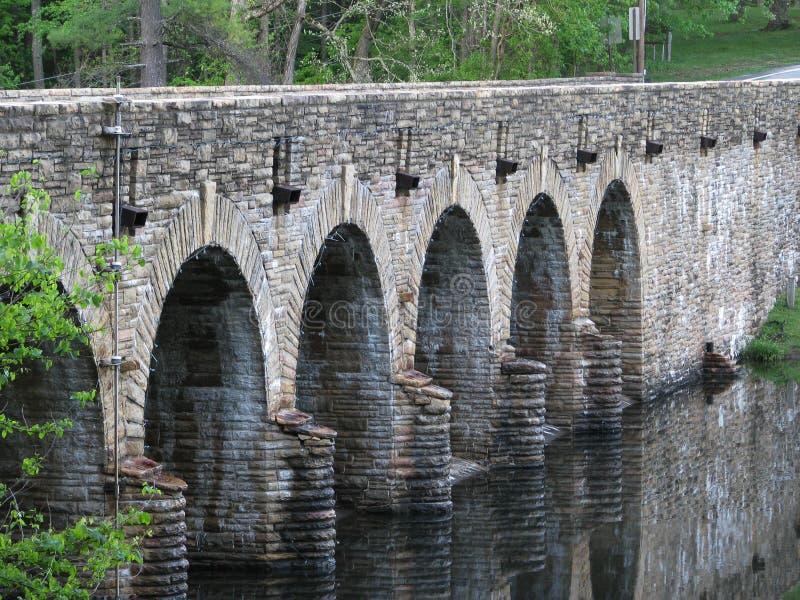 Каменные мост/запруда, стоковые изображения rf