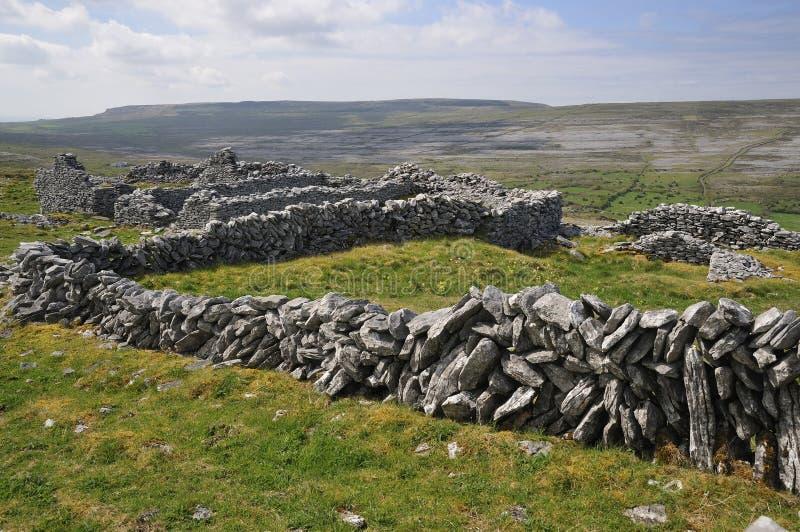 каменные стены стоковые изображения rf