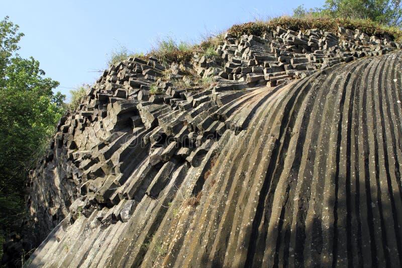 Каменный водопад в Somoska стоковая фотография
