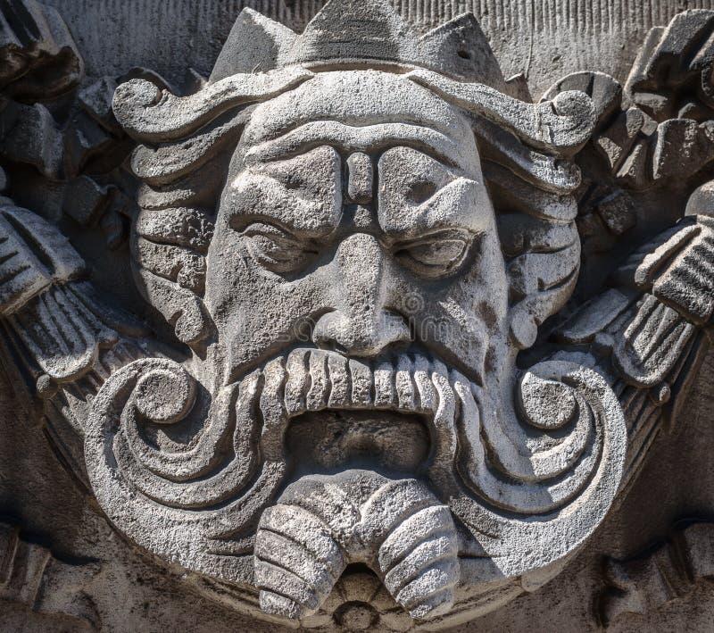Каменный король стоковая фотография