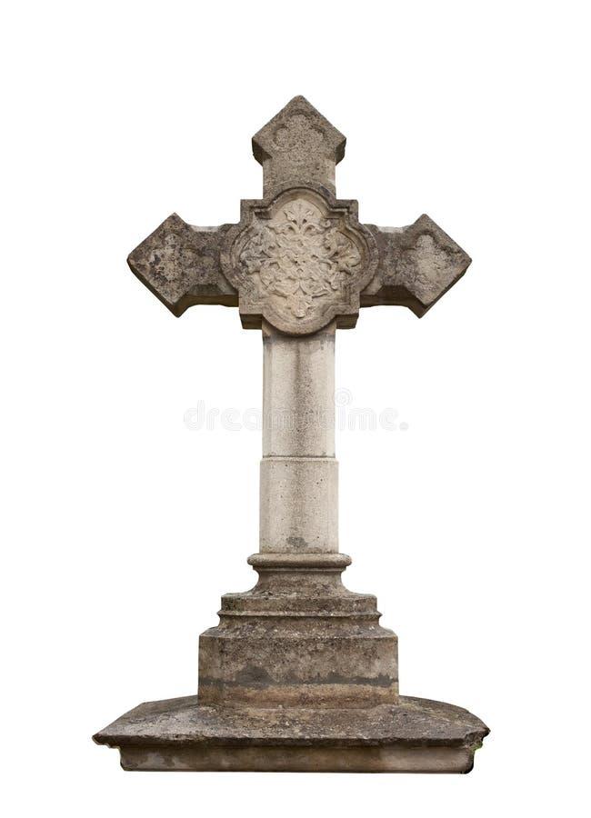 Каменный крест стоковые фото