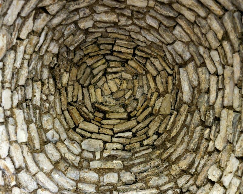 Каменный купол от внутренности стоковые фото