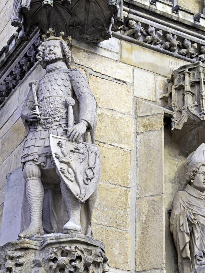 Каменный рыцарь стоковые изображения