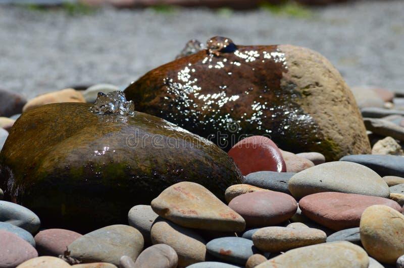 Каменный фонтан стоковые фото