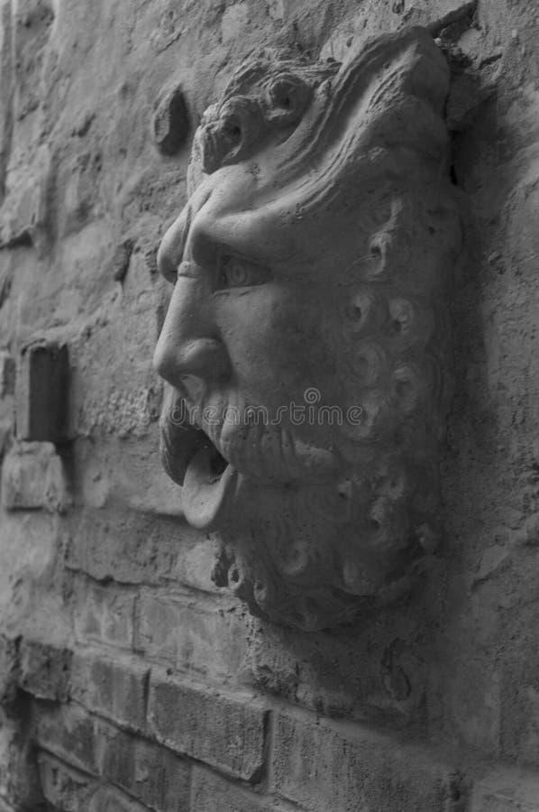 Каменный человек стоковая фотография