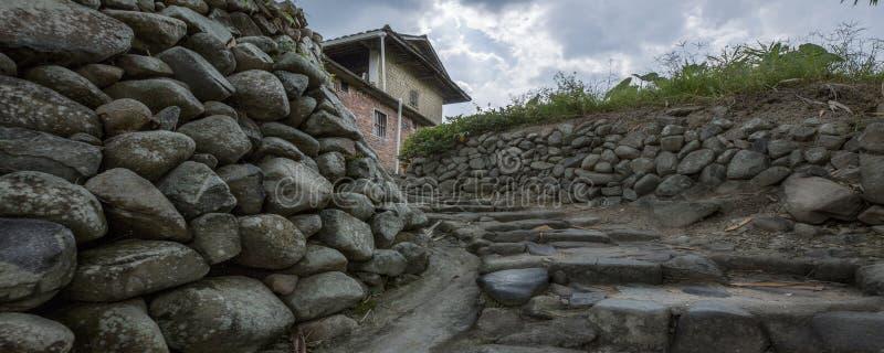 Каменный stockade стоковая фотография rf