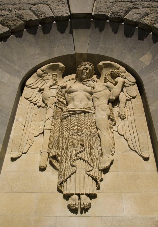 камень ангела стоковое фото rf