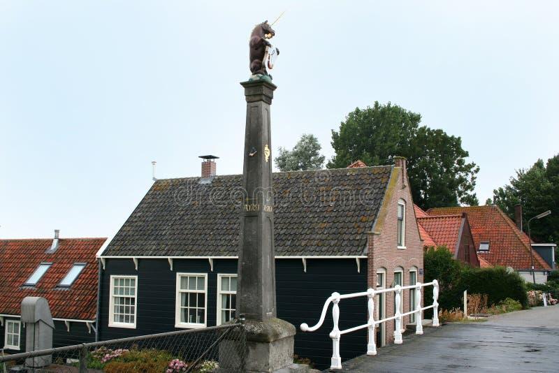 Камень границы Hoorn стоковые фотографии rf