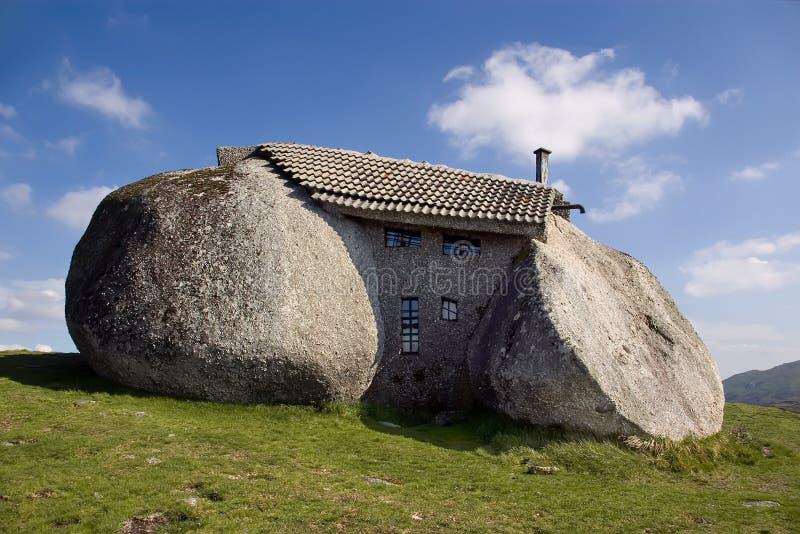 камень дома стоковые изображения rf