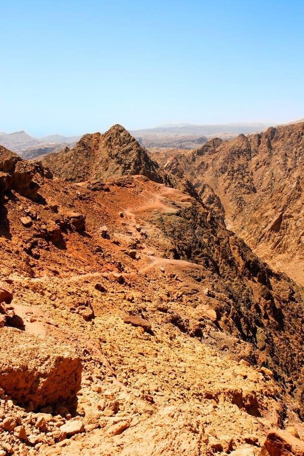 камень ландшафта пустыни стоковое фото