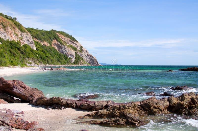 камень моря свободного полета стоковая фотография