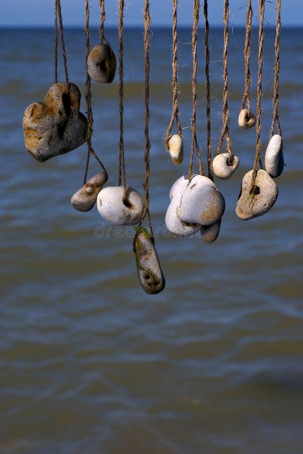 камень моря стоковая фотография rf