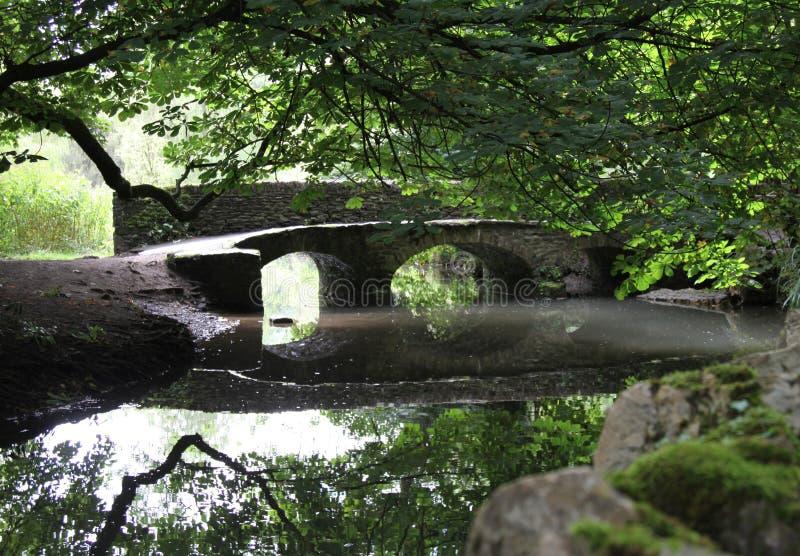 камень моста стоковая фотография rf