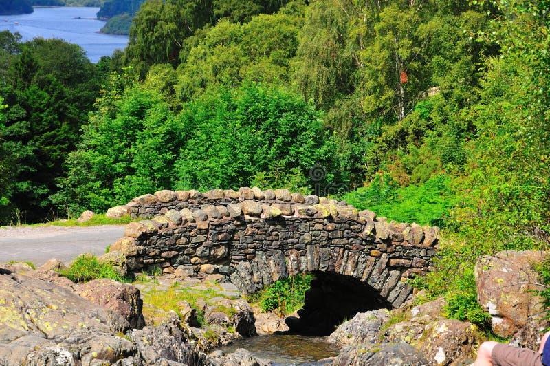 камень моста ashness стоковое изображение rf