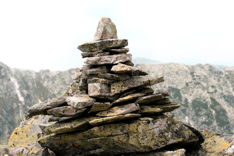 камень пирамидки стоковая фотография