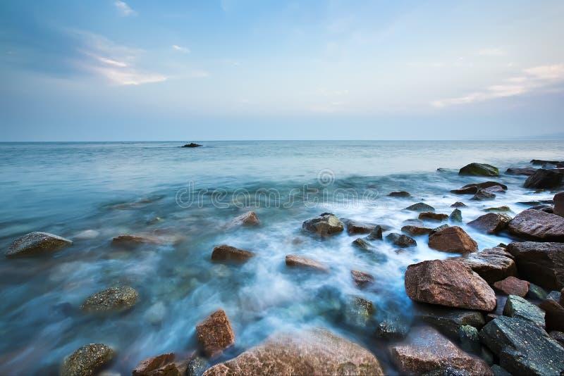 камень пляжа стоковое фото